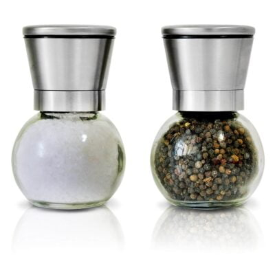 VeoHome Set de 2 moulins à poivre et sel