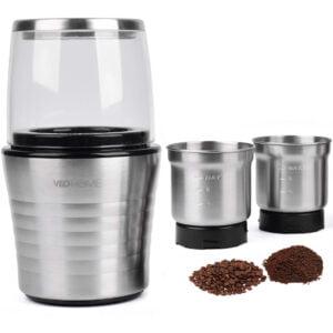 Moulin électrique à café, graines et épices